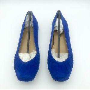 NIB Jessica Simpson Emmly Ballerina Flats, Blue, 8